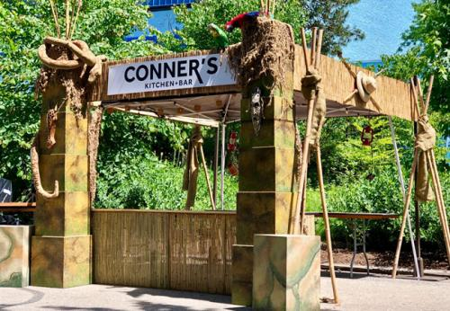 Jungle-Theme-Outdoor-Food-Festival-Booth