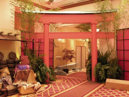 Asian Design -  Shinto Gate Entrance