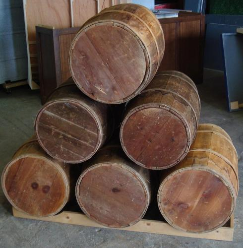 Western Theme - Barrel Displays Of All Kinds