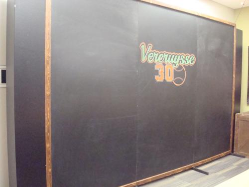 Baseball - Chalkboard Backdrop