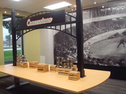 Baseball - Concessions Catering Station