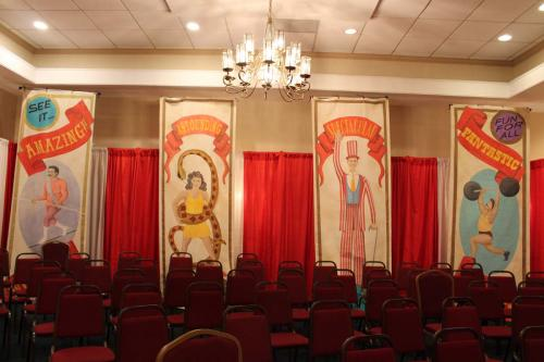 Carnival - Circus - 12' Tall Painted Sideshow Backdrops