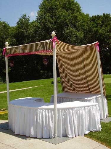 Hamptons Theme - Catering Station