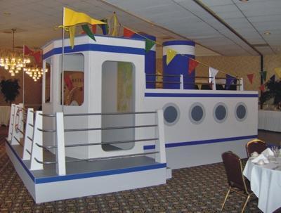 Cruise Ship Prop