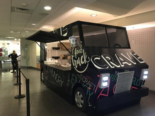 Custom Food Truck Prop for Pop-Up Restaurants
