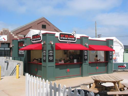 Custom Pop Up Restaurant Food Booth
