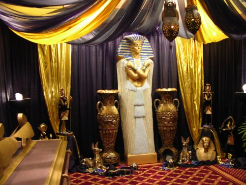 Egypt - Sarcophagus and Props