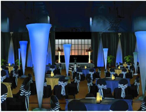 Elegant Awards Night Room and Stage Decor