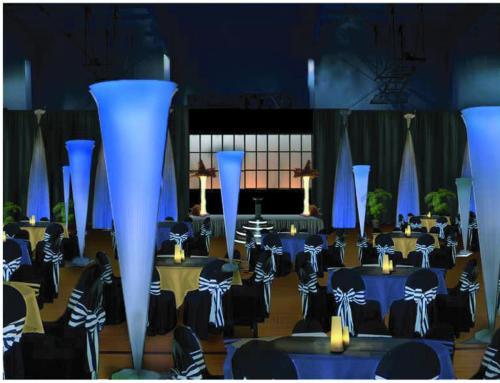 Elegant Awards Night Room and Stage Decor