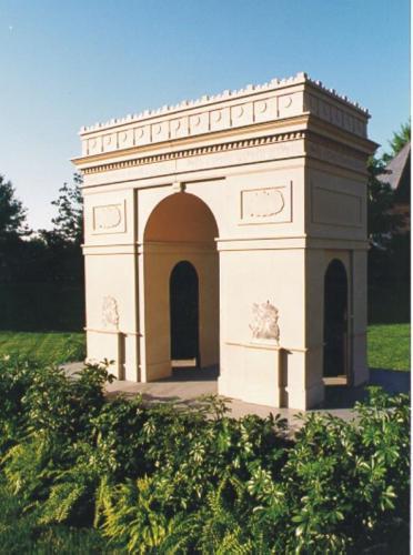 France - Arc de Triomphe 3D Prop