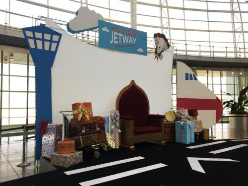 Holiday Decor for Airports