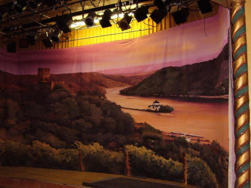 Italy - Tuscany Painted Backdrop - 12' tall x 32' wide