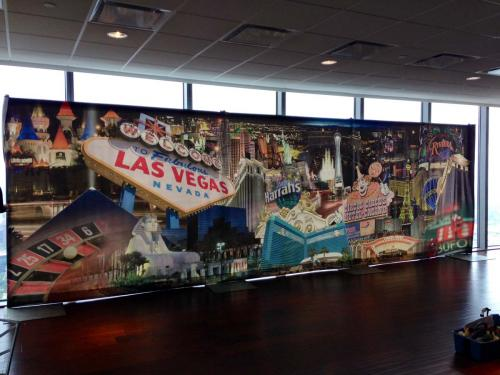 Las Vegas - Collage Design - 8' tall x 26' wide