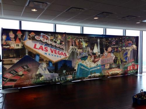 Las Vegas - Collage Design - 8' tall x 26' wide
