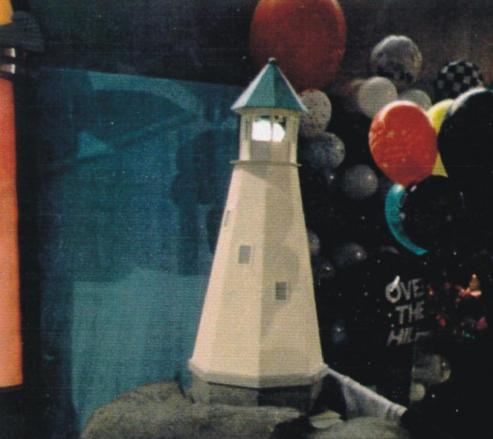 Lighthouse Prop - 5 foot tall