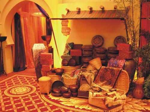 Moroccan Market Decor Display