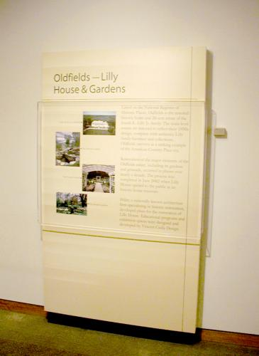 Museum Services - Custom Cabinetry and Exhibit Panel Displays