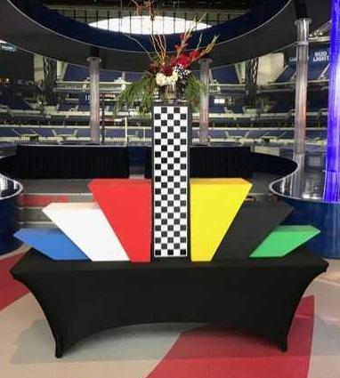 Race Theme - Catering Station Display
