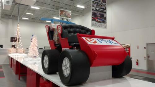 Race Theme - Santa Sleigh - Race Car