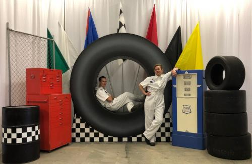 Race Tire Photo Opportunity