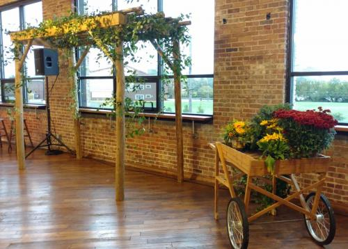 Rustic Elegance - Arbors and Wood Carts