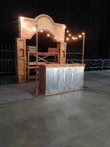 Rustic Elegance - Southwestern Contemporary Bar Station