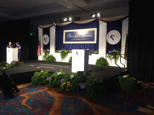 Stage Sets - For Luncheon Awards Programs