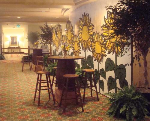 Sunflower Backdrop - 7' tall x 24' wide