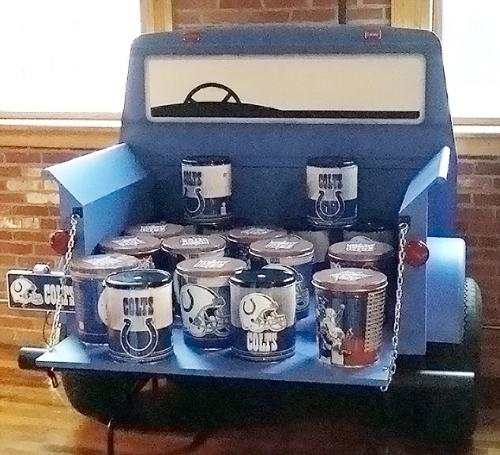 Tailgate theme - Pick Up Truck - Catering Station