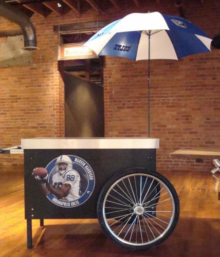 Tailgate Theme - Vendors Cart