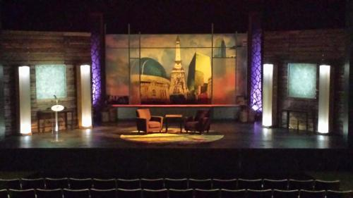 Talk Show Stage Set