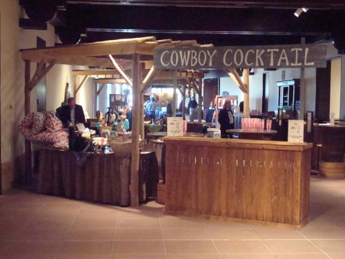 Western Theme Bar Station