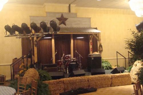 Western Theme - Saloon Design - Stage Set - Backdrop