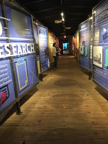 Museum Services - Temporary Historical Exhibit Displays